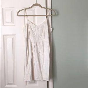 Madewell eyelet white dress